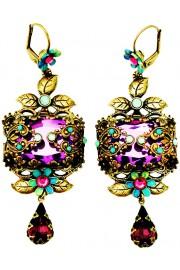 Michal Negrin Purple Noa Earrings