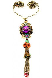 Michal Negrin Purple Noa Necklace