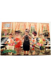 Michal Negrin Party Lenticular Postcard