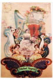Michal Negrin Wonderland Lenticular Postcard