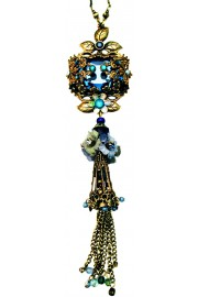 Michal Negrin Blue Noa Necklace