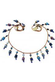 Michal Negrin Blue Bells Necklace