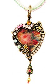 Michal Negrin Lenticular Heart Necklace