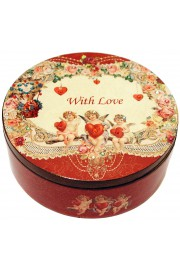 Michal Negrin Love Large Round Jewelry Box