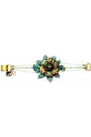 Michal Negrin Boho Flower Beads Bracelet