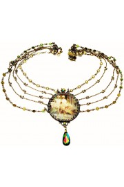 Michal Negrin Burlesque Lenticular Necklace