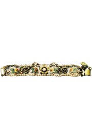 Michal Negrin Antique Flowers Mesh Bracelet