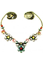Michal Negrin Vintage Flowers Necklace