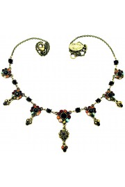 Michal Negrin Crystals Drops Necklace