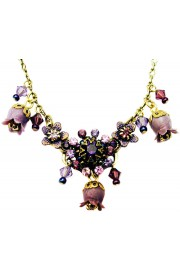 Michal Negrin Purple Bells Necklace