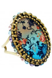 Michal Negrin Silhouette Cameo Ring