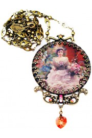 Michal Negrin Lenticular Wonderland Necklace