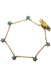 Michal Negrin Multicolor Starflowers Anklet