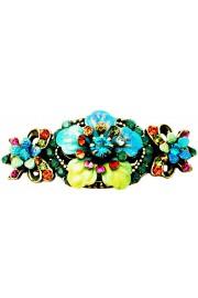 Michal Negrin Multicolor Floral Hair Clip