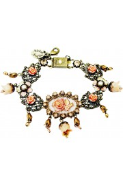 Michal Negrin Victorian Roses Bells Bracelet
