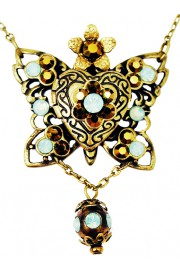 Michal Negrin Butterfly Locket Necklace