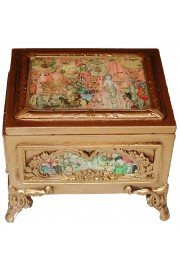 Michal Negrin Victorian Room Ornate Jewelry Box