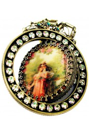 Michal Negrin Lenticular Spin Necklace