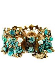 Michal Negrin Turquoise Crochet Bracelet