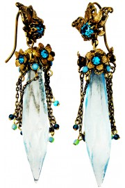 Michal Negrin Turquoise Bewitched Earrings