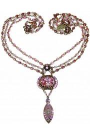 Michal Negrin Lilac Noa Deco Necklace