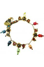 Michal Negrin Multicolor Bells Crystals Bracelet