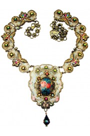 Michal Negrin Victorian Elements Cameo Necklace
