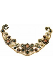 Michal Negrin Lace Moasic Cameos Necklace