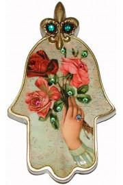 Michal Negrin Victorian Hand Wall Hamsa