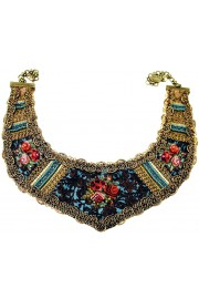 Michal Negrin Roses Print Collar Necklace