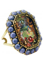 Michal Negrin Jeans Stones Cameo Ring