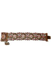 Michal Negrin Fuchsia Lilac Cameo Bracelet