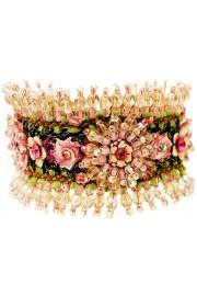 Michal Negrin Pink Embellished Bracelet