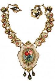 Michal Negrin Rose Element Necklace