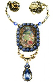 Michal Negrin Jeans Cameo Necklace