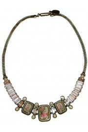 Michal Negrin Deco Baguettes Necklace