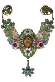 Michal Negrin Vintage Cherubs Necklace