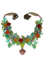 Michal Negrin Multicolor Beaded Necklace