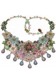 Michal Negrin Vintage Garden Lace Necklace