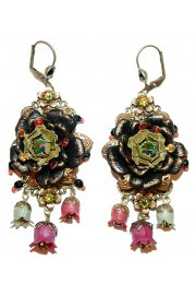 Michal Negrin Vintage Rose Earrings