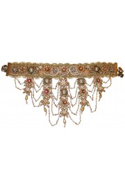 Michal Negrin Victorian Cameos Embellished Choker