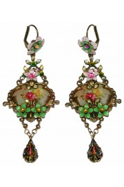 Michal Negrin Victorian Cameo Earrings