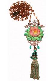 Michal Negrin Lotus Flower Necklace