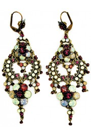 Michal Negrin Chandelier Drama Earrings
