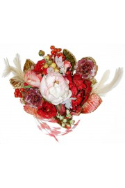 Michal Negrin Flower Bouquet Brooch