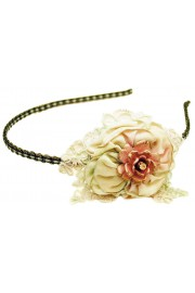 Michal Negrin Fabric Flower Headband