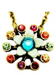 Michal Negrin Multicolor Starburst  Necklace
