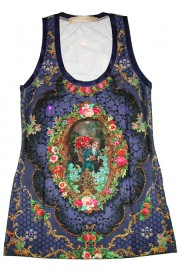 Michal Negrin Victorian Tank Top