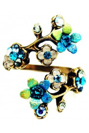 Michal Negrin Forest Spiral Ring