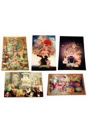 Michal Negrin Five Lenticular Postcards